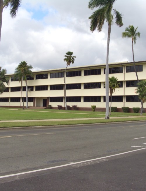 Project-Controls-Pacific-Air-Forces-Headquarters-Building-Street View