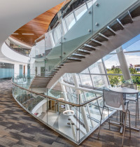 Early Project Definition and Alignment-Salt Lake Public Safety Building-Interior Staircase