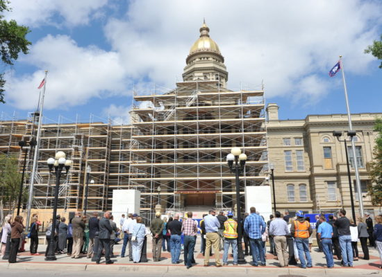 Wyoming State Capitol Ground Breaking Ceremony